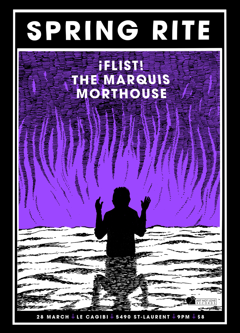 Flist + The Marquis, Montreal QC, 2015